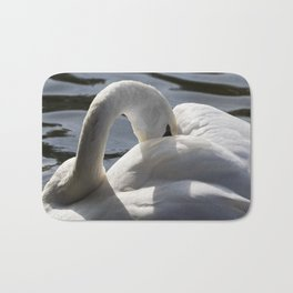 Swan Peace Bath Mat