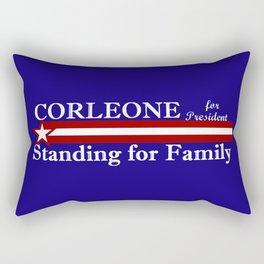 Corleone Standing for Family Rectangular Pillow
