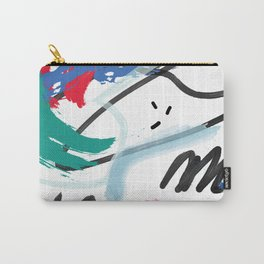 Hand Drawn textures Carry-All Pouch