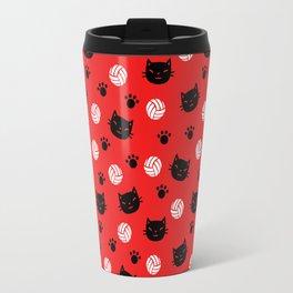 Volley Cats! Travel Mug