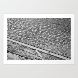 Lines of Quebec Art Print