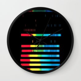 Spectroanalysis Wall Clock