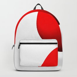 Egg Red Backpack