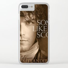 outlander warrior Clear iPhone Case