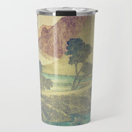 A Valley in the Evening Travel Mug