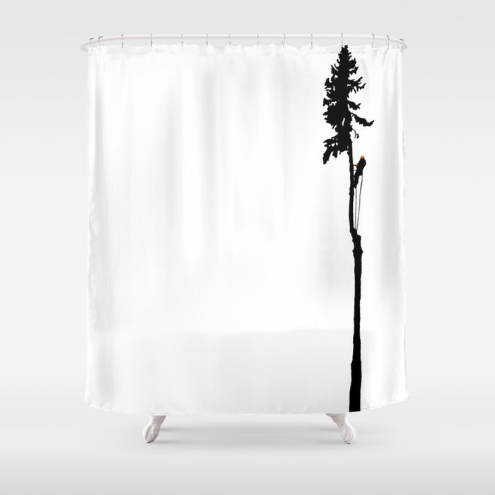 Climber Shower Curtain
