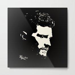 "Jamie Dornan ""Black & White"" Metal Print"