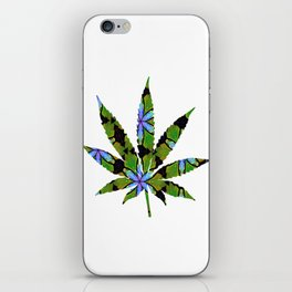 Cannabis Rainbow Design (23) iPhone Skin