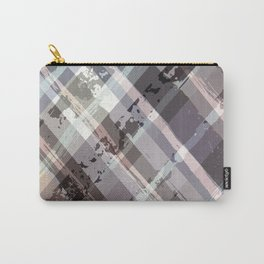 Crossword Traditional Quilt Pattern Carry-All Pouch
