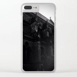 Black Metal Church Clear iPhone Case
