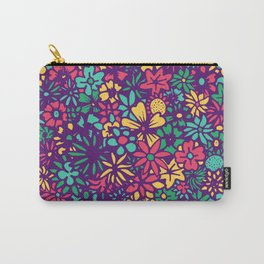 Floral – Modern Pop Carry-All Pouch