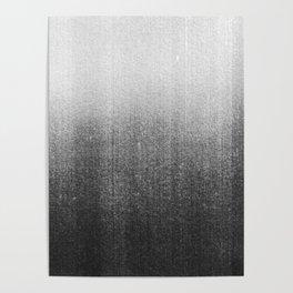 BLUR / abyss / black Poster