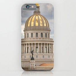 Capitolio of Cuba iPhone Case