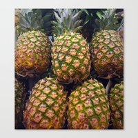 pineapples Canvas Prints featuring Pineapples by UMe Images