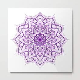 purple noise Metal Print