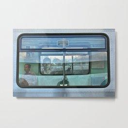 Multi plans window Metal Print