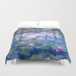 Water Lilies Monet Duvet Cover