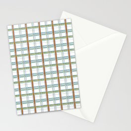 Primary Plaid Stationery Cards