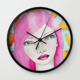 Bella SASS Girl - Pink - SASS = STRONG and SUPER SMART Wall Clock