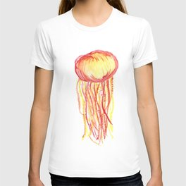 Jelly fish on fire T-shirt