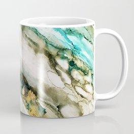 Teal Turquoise Geode Coffee Mug