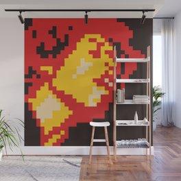 Jimi Experience minimal pixel Wall Mural