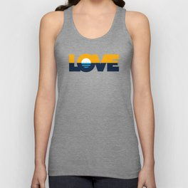 LOVE - People's Flag of Milwaukee Unisex Tank Top