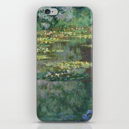 Water Lilies 1904 by Claude Monet iPhone Skin