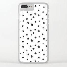 STARS ON YOUR HAND Clear iPhone Case