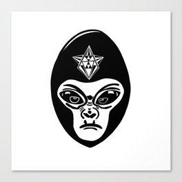 Alien/gorilla (goralien) XENO Canvas Print