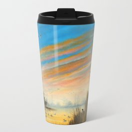 Evening Duck Hunters Travel Mug