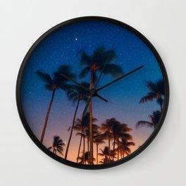 California Nights Wall Clock
