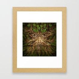 The Green Man - Spring Framed Art Print