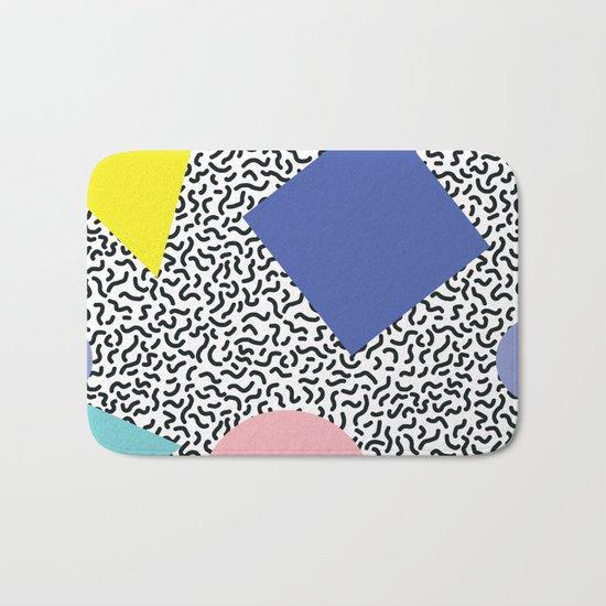 Memphis Pattern 1 Bath Mat