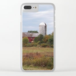 Pennsylvania Farm Clear iPhone Case