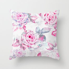 ROSES4 Throw Pillow