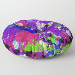 Speakerbox Splatter  Floor Pillow