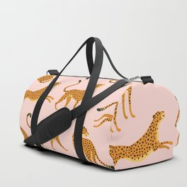 Leopard pattern Duffle Bag