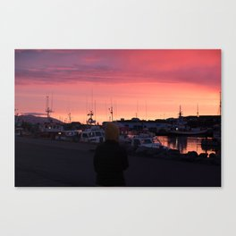 Instant crush Canvas Print