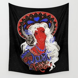 The last rose Wall Tapestry