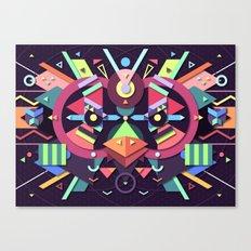 BirdMask Visuals - Swift Canvas Print