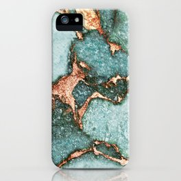 GEMSTONE & GOLD NEW MINT iPhone Case