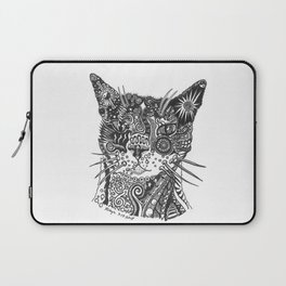 Hunter the Kitty in RobynTangle Laptop Sleeve