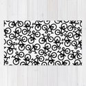 Black Bikes Pattern by xooxoo