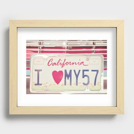 Hello Love Recessed Framed Print