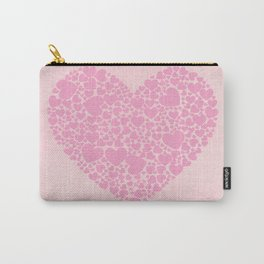 Rose Hearts Carry-All Pouch