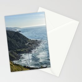 The View from Cape Perpetua Stationery Cards
