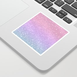 Unicorn Princess Glitter #1 (Photography) #pastel #decor #art #society6 Sticker