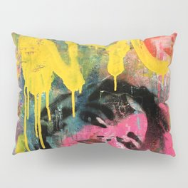 NYC GRAFFITI WALL II Pillow Sham