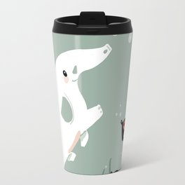 Ocean Elephant Travel Mug